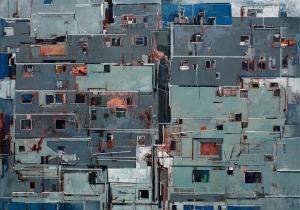Artur Przebindowski, z serii: Wnętrze miasta, no.9, 2016
