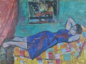 Zdzisław Przebindowski (1902-1986), Leżąca kobieta