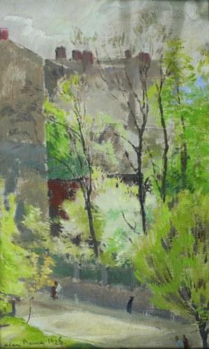 Adam Bunsch (1896 - 1969), Pejzaż IV, 1925