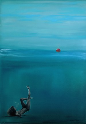 Agnieszka Nosek, Excuse me, can I be a mermaid?, 2016