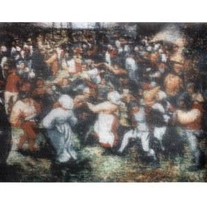 Bartosz Czarnecki (ur. 1988) - Pieter Bruegel - Taniec wiejski, 2017