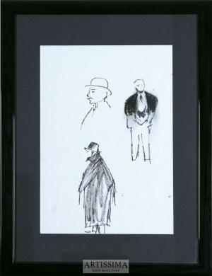 Tadeusz Kantor (1915–1990), Szkice mężczyzn*