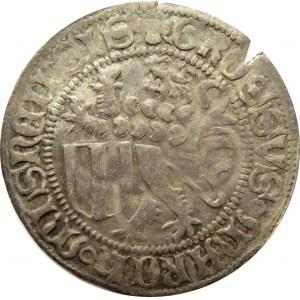 Niemcy, Saksonia, grosz miśnieński, 1451-1456, Freiberg