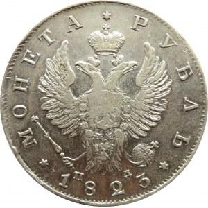 Rosja, Aleksander I, 1 rubel 1823 PD, Petersburg