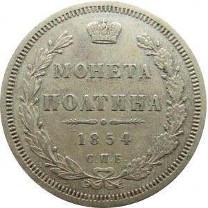 Rosja, Mikołaj I, połtina 1854 HI, Petersburg