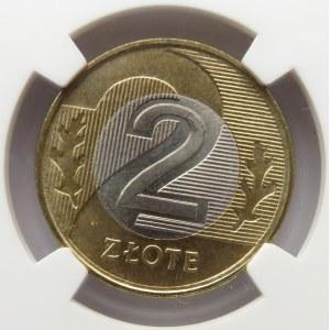 Polska, III RP, 2 złote 1994, NGC MS66