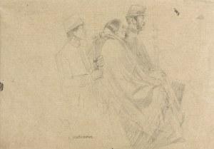 Artur Markowicz (1872-1934), Trzy siedzące postacie