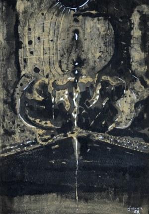Zbigniew Jaskier (1928 - 1969), Abstrakcja, 1968