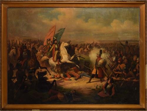 January Suchodolski (1797 Grodno - 1875 Boimie K.węgrowa), Scena batalistyczna ze Stefanem Czarnieckim