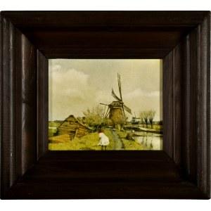 Jerzy Duda-Gracz (1941 Częstochowa - 2004 Łagów), Obraz 974 / holenderski, 1985