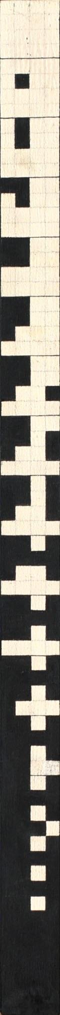 Ryszard Winiarski (1936 Lwów - 2006 Warszawa), Order vertical game 4 x 4, 1981