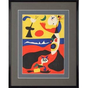 Joan Miró (1893 Barcelona, Hiszpania - 1983 Palma De Mallorca, Hiszpania), Mars