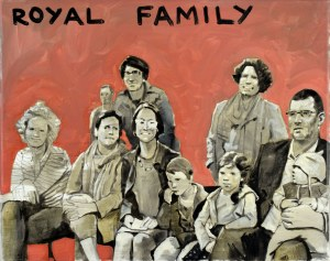 The Krasnals. Whelki Krasnal, Royal Family, 2015