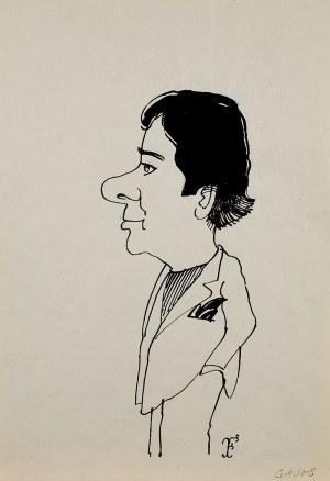 Jerzy Flisak, Karykatura Janusza Gajosa