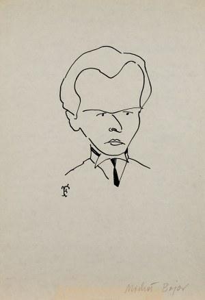 Jerzy Flisak, Karykatura Michała Bajora