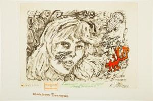 Eugeniusz Get-Stankiewicz (1942 – 2011), Dziewczyna oczekuje na przylot kogoś bliskiego, 2002 r.