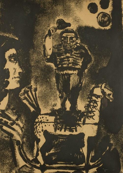 Jacek Sienicki (1928 - 2000), Cyrk, 1958 r.