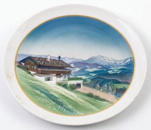 TALERZ Z HAUS WACHENFELD, Niemcy, Selb, Rosenthal, 1923