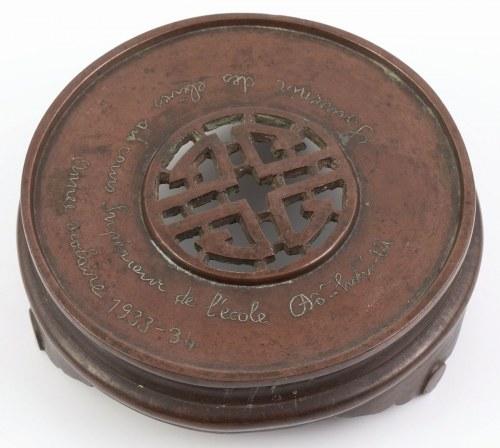 PODSTAWA POD WAZĘ, Chiny, k. XIX w.