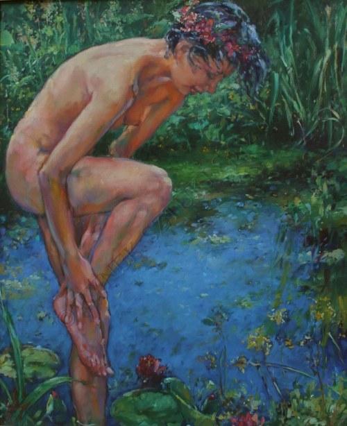 """Klaudiusz Abramski, Z cyklu """"Ogrody mojej wyobraźni"""" (2000)"""