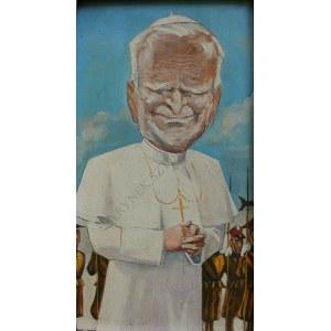 Stanisław Ibis-Gratkowski (1923-1988), Karykatura Jana Pawła II