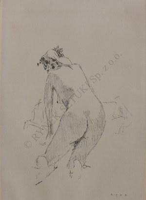 Bencion Rabinowicz [Benn] (1905-1989), Akt