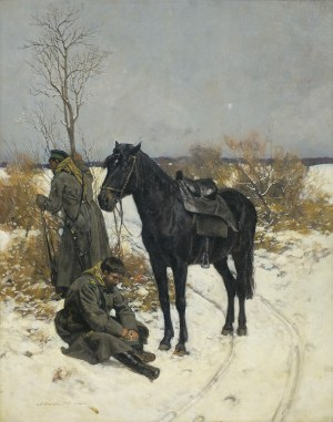 Piotrowski Antoni, ROSYJSKA STRAŻ GRANICZNA, 1885