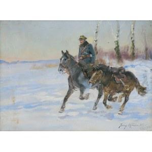 Kossak Jerzy, PATROL. UŁAN Z LUZAKIEM, 1935