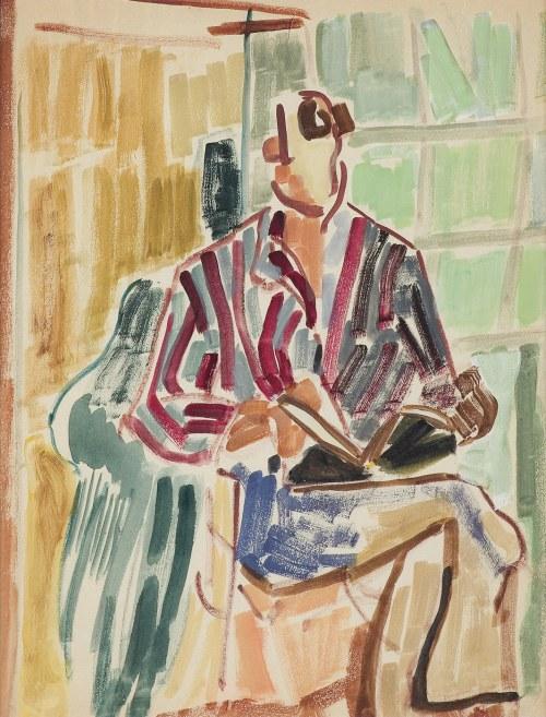 Jarema Maria, CZYTAJĄCY (KORNEL FILIPOWICZ?), 1942