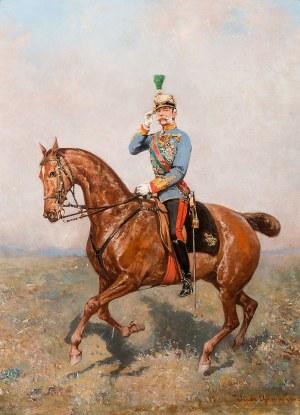 Tadeusz Ajdukiewicz, Konny portret Cesarza Franciszka Józefa I