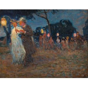 Witold Wojtkiewicz, Garden Party, 1907