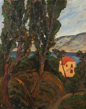 Henryk Epstein, Pejzaż z południa Francji