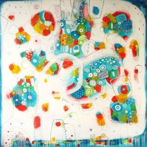 Marlena Rakoczy, Kolorowe przestrzenie II, 2018