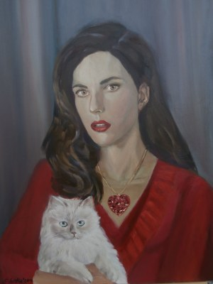 Celina Reiss-Litke, Kobieta i kot, 2019