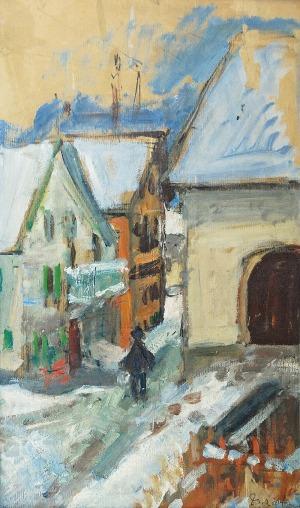 Zygmunt SCHRETER (1886-1977), Cellerina zimą
