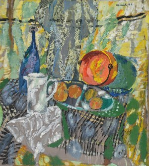 Juliusz JONIAK (ur. 1925), Martwa natura z kociołkiem, 1991