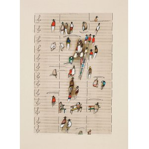 WITOLD-K (ur. 1932), Symphony for people, 2001
