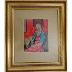 Jan Ekiert, Siedząca kobieta
