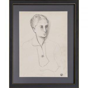Gabriel Zendel, Bez tytułu (Portret kobiety)