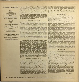 Czajkowski, Berlioz, Sibelius, Liszt, Weber, Filharmonicy Wiedeńscy, dyr. Herbert von Karajan