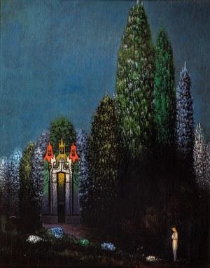 Bolesław Biegas (1877 Koziczyn – 1954 Paryż) Chateau des Trésors (Pałac skarbów)