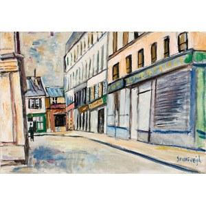 Nathan Grunsweigh (1883 Kraków – 1966/1970) Rue de la Corderie