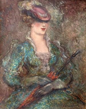 Stanisław Eleszkiewicz (1900 Czutowo k. Połtawy – 1963 Paryż) Dama z parasolką