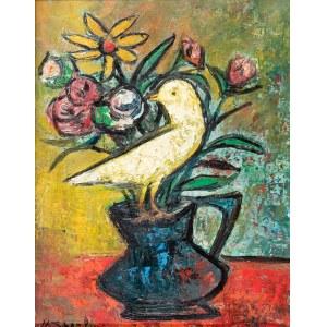 Marc Sterling (1898 Rosja – 1976 Paryż (?)) Martwa natura z ptakiem