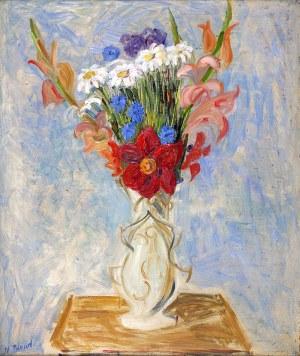 Maurice Blond (1899 Łódź – 1974 Clamart) Kwiaty w wazonie