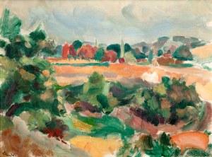 Wacław Zawadowski (1891 Skobiełka/Wołyń – 1982 Aix-en-Provence) Pejzaż prowansalski