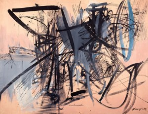 Ireneusz Pierzgalski (ur. 1929, Łódź) Bez tytułu, 1959