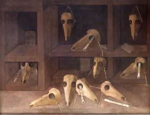 Kiejstut Bereźnicki (ur. 1935 Poznań) Martwa natura z maskami zwierzęcymi, 1991–1999