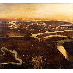 Ryszard Patzer (ur. 1941) W przestrzeni, 1989