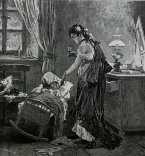 Alfred Wierusz - Kowalski (1849-1915), Z życia zakulisowego
